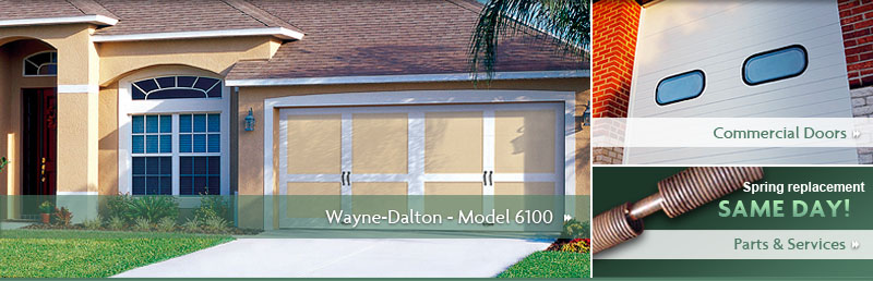 Wayne-Dalton Model 6100